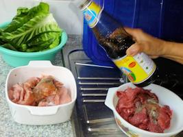 Getrocknetes Fleisch - thailändische Art