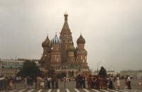 Basilius-Kathedrale - Moskau 1980