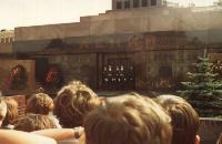 Lenin-Mausoleum - Moskau 1980