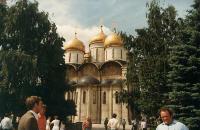 Eine der vielen Kathedralen - Moskau 1980