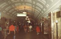 Eine der schönen U-Bahnstationen - Moskau 1980