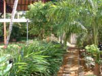 Der hoteleigene botanische Garten