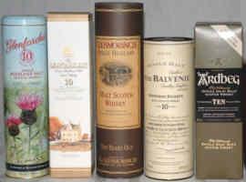 Whiskys aus 2002 - nicht schlecht!