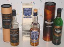 Whiskies von 12/2004 + 01/2005