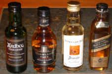 Whiskytasting im Juni 2007